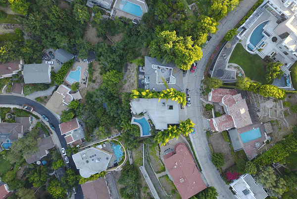 Areal view of first time-home owners suburbs   GotProperty