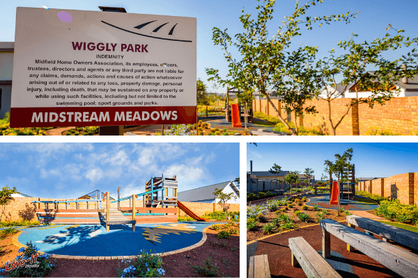 Midstream Meadows, Wiggly Park