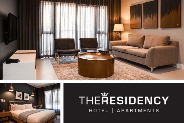 4 reasons why you should book accommodation at the Residency Hotel Apartments